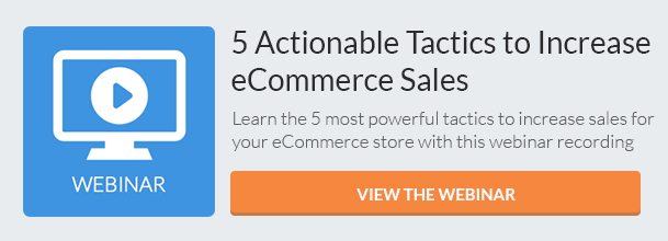 Increase eCommerce Sales (Webinar) CTA