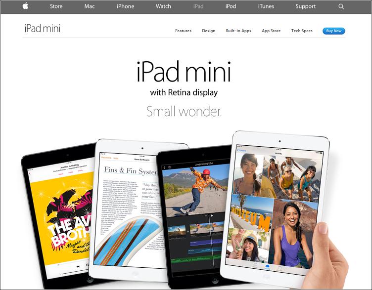 Apple color scheme