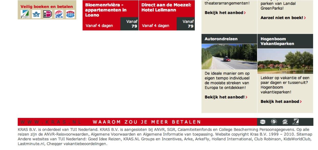 KRAS.NL control page